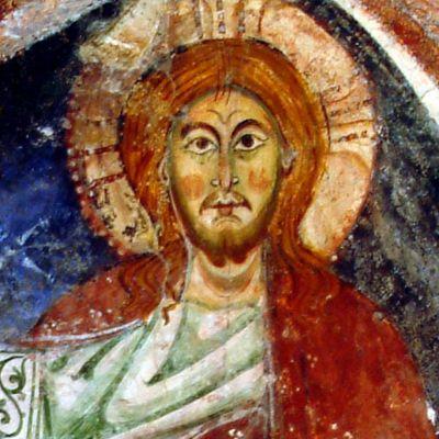 Particolare del Cristo